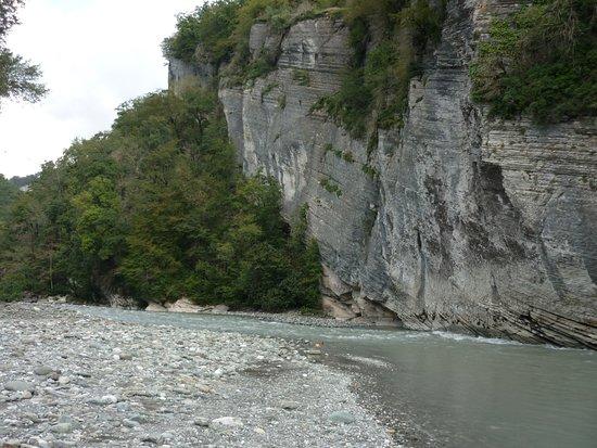 River Mzymta: Мзымта в Казачьем Броду