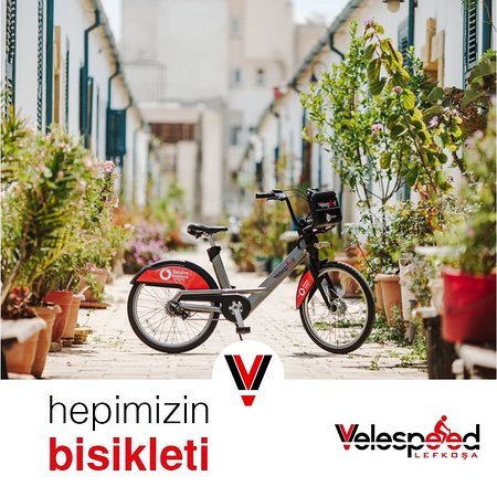 Nicosia, Chipre: Velespeed is everyone's bicycle to share