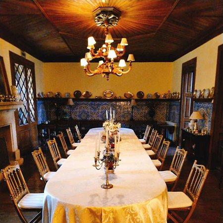 Hotel Rural Casa dos Viscondes da Varzea: The main dinning room