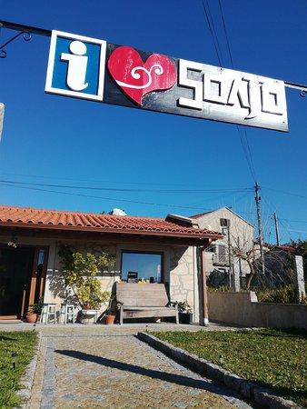 Front entrance on the main road to reach the Espigueiros de Soajo