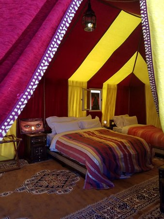 Desert experience with comfort and luxury