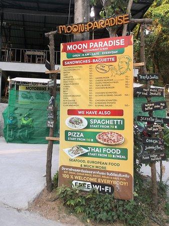 Moon Paradise Restaurant & Bar: 9 mars 2018 à 07h06