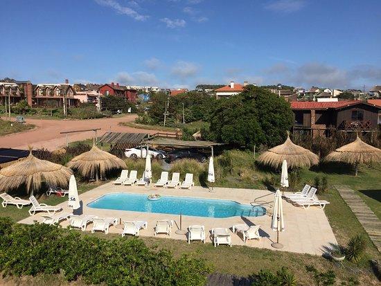 Vista da piscina principal.