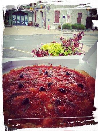 Pizza El Niño: Pizza à l'Anchois pour les puristes !