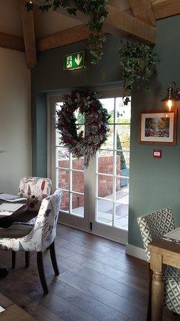 Danbury, UK: Side door to the new Garden Room