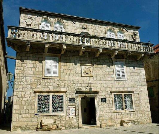Ciudad de Curzola (Korčula), Croacia: Front facade, Bishops Palace
