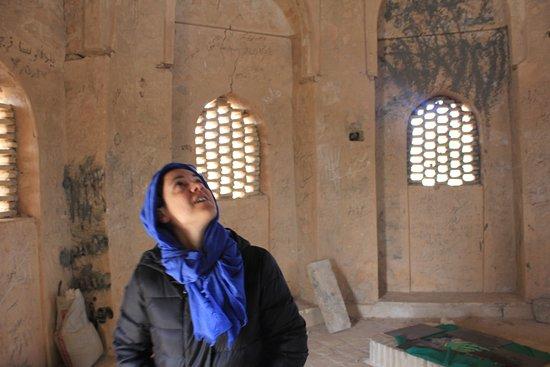 Yazd, Iran: Sheikh Jonade Tomb in Touran Posht