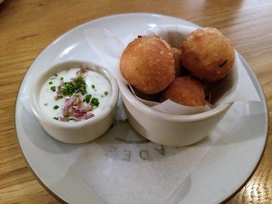 Chickadee: Sour Cream + Onion Donut