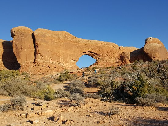Moab Utah Arches national park, the eye