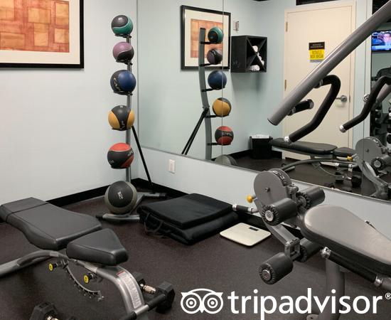 Fitness Center at the Club Quarters Hotel, Times Square -Midtown