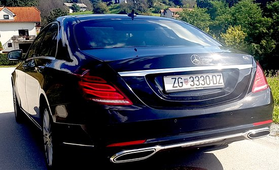 Mercedes S class 2018 , professional chauffeur service Zagreb Croatia with experience since 1986