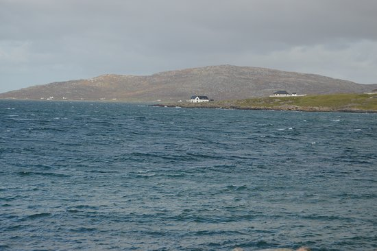 """Isle of Eriskay, UK: """"An Taigh Mor"""" from the Eriksay ferry quay"""
