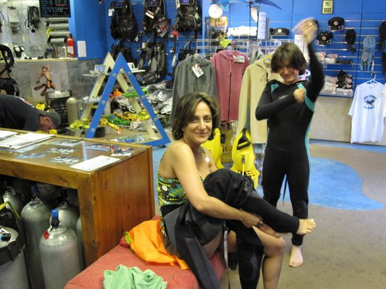 Kihei, Havaiji: Scuba diving with Maui Dreams (Maui, May 2010)