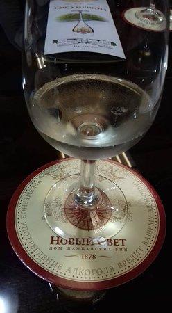 Novyi Svit: Шампанское из подвалов винодела Галицына.