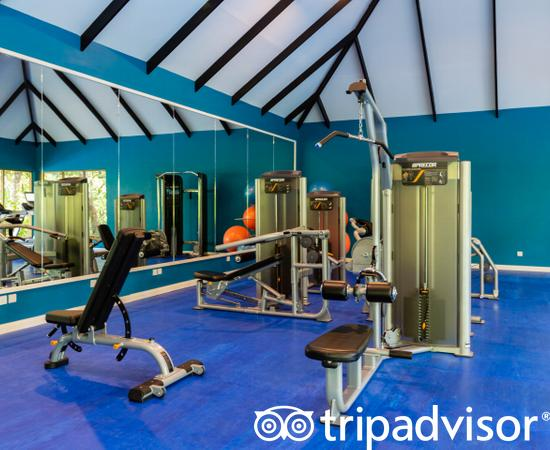 Fitness Studio at the Kandima Maldives