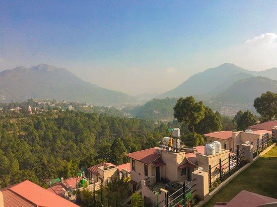 Nainital District, Indien: Homestay lawn