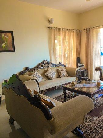 Nainital District, Indien: Living room