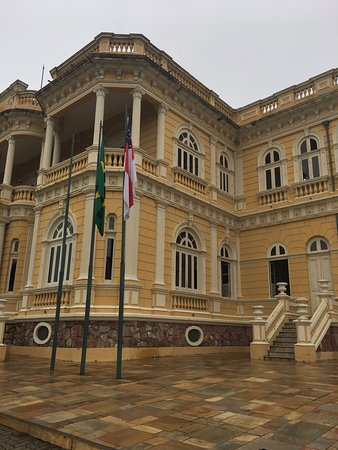 Palacio Rio Negro side entrance