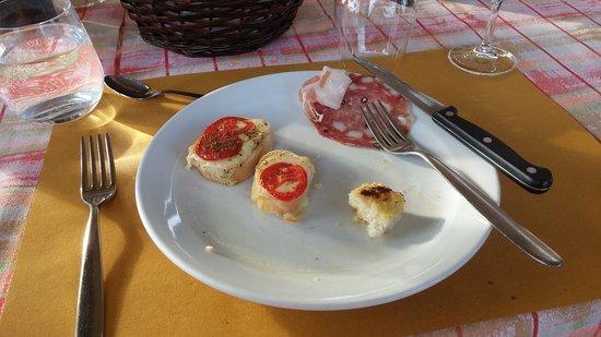 Fattoria Poggio Alloro: first course