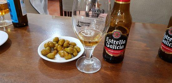 Bar Restaurante Talisman II de Les Planes: cerveza