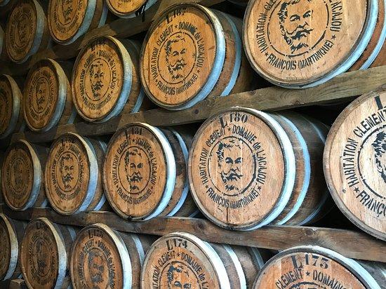 Habitation Clement: Lots of rum