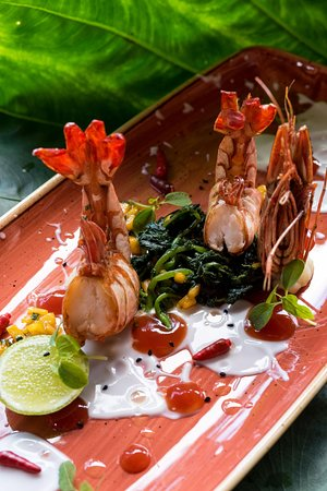 Tikitam Palms Boutique Hotel: We believe in very healthy food & serve it than way . Only Zanzibar & fresh