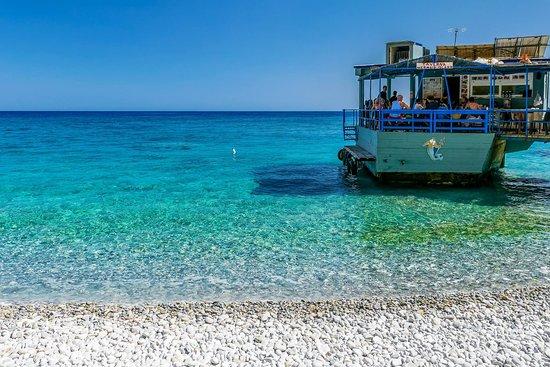 Glika Nera Beach : Sweet Water Beach or Glyka Nera Beach in Chania
