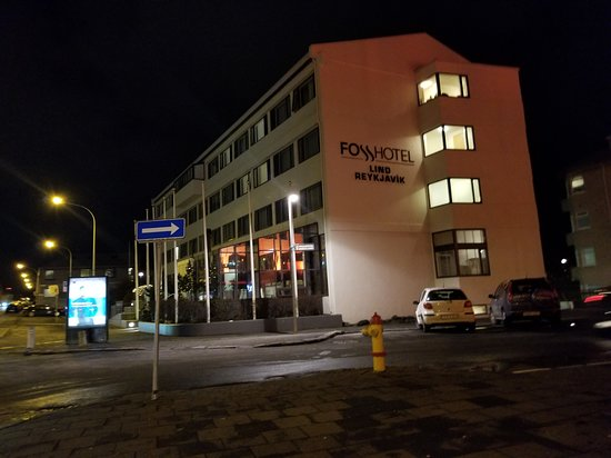 The location is in downtown Reykjavik - a few feet away from the bus stop, and walking distance to restaurants, shops, and tourist attractions.