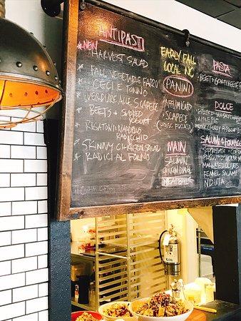 Menu Board il Centro Kitchen