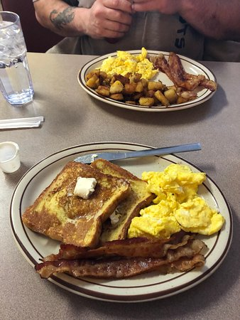 Hornell, Nova York: Best breakfast ever