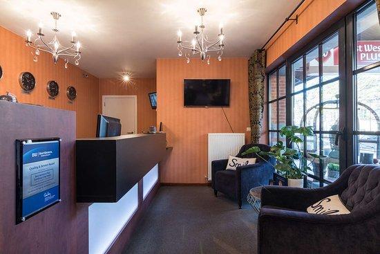 Best Western Plus Turnhout City Hotel: reception