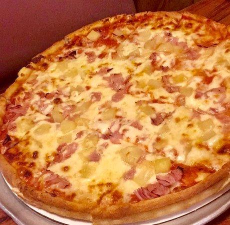 The Mediterranean Hawaiian pizza