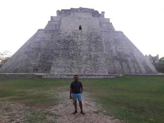 Templo del adivino en Uxmal