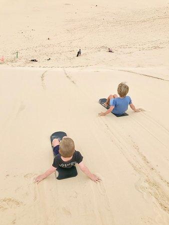 ACTIVITY: Sandboarding at Anna Bay