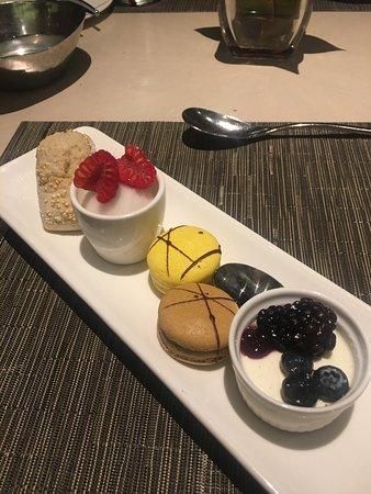 Gluten free dessert platter