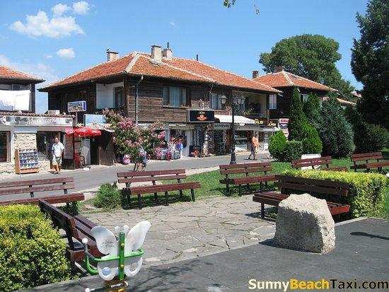 Sunny Beach Taxi: Nessebar old town