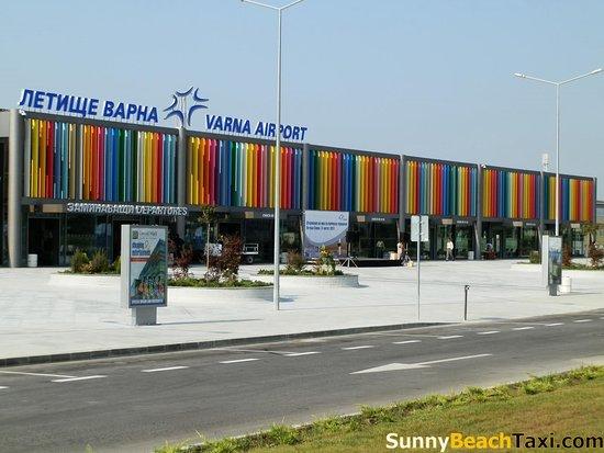 Sunny Beach Taxi: Varna airport