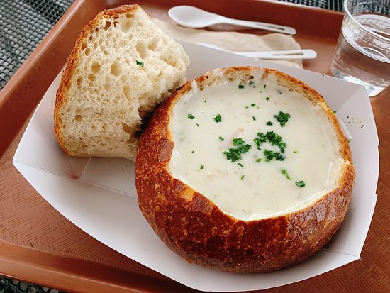 Risultati immagini per clam chowder tipica di