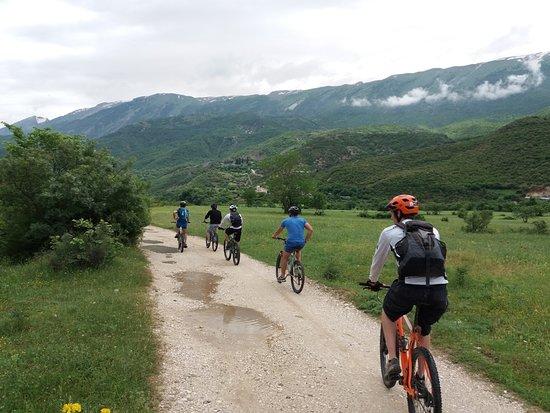 Permet, Albania: Biking in Vjosa Valley