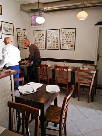 Osteria Alla Frasca: The owners...