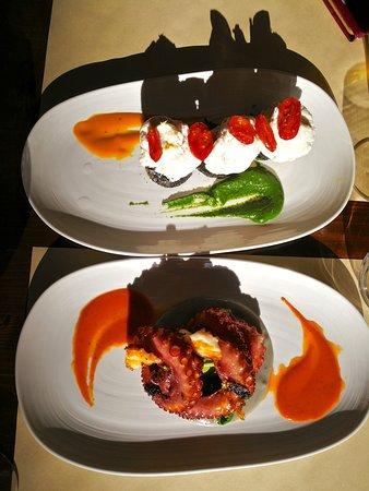 Osteria Alla Frasca: One of my very rare photos of food!...shadows kinda kill the shot...hooray!