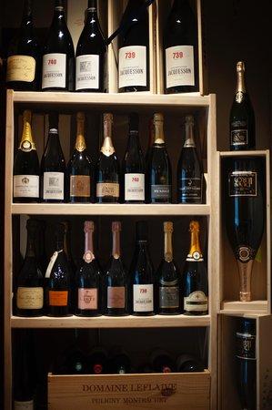 Snapshots fra vinkælderen Et udvalg af vores Champagner