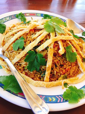 Dhampus, Nepál: Vegetable Fried rice