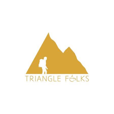 Triangle Folks, Mcleodganj: Logo