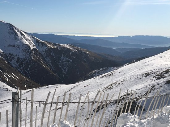 Vall de Boi, Spain: View from top about 2700 meters