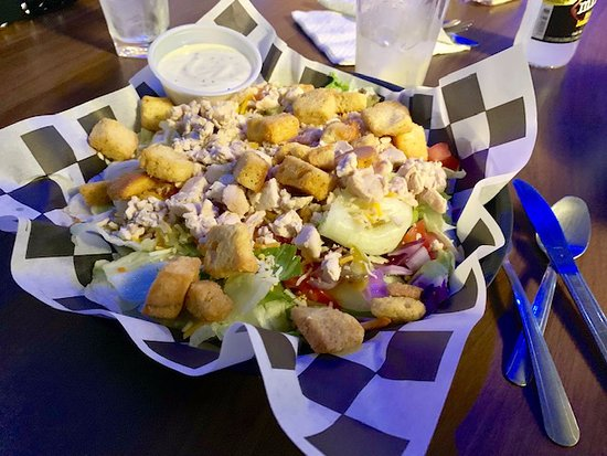 Decatur, IN: Small Town's Grilled Chicken Salad