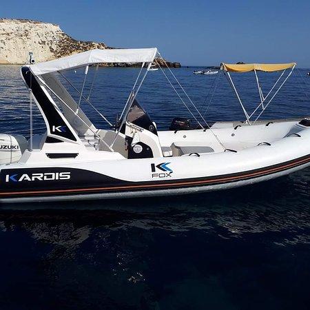 Tremiti Islands, Italie : Noleggio gommoni