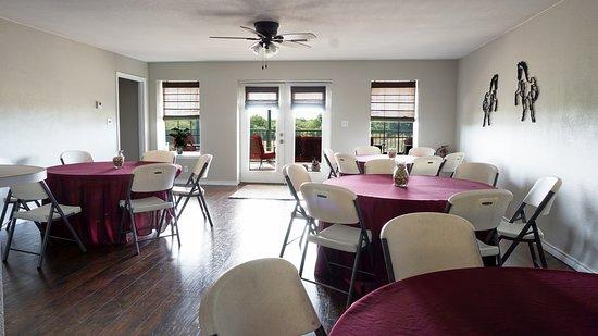 Iowa Park, TX: Banquet room