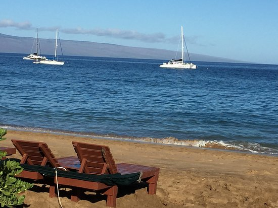 Ka'anapali, Havai: Last sail of the trip with Trilogy to Honolua and Slaughterhouse Bay (Maui, May/June 2017)