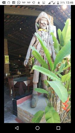 Lindo lugar, comida muito saborosa, amamos!!! #ONordestão #Palmares